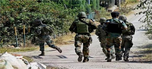 two soldiers militant killed in ongoing pulwama gunfight