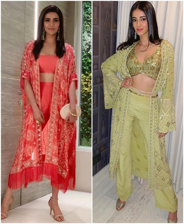 Bollywood Fashion: सेलेब्स का फेवरेट इंडो-वेस्टर्न लुक आप भी करें ट्राई (See Pics)