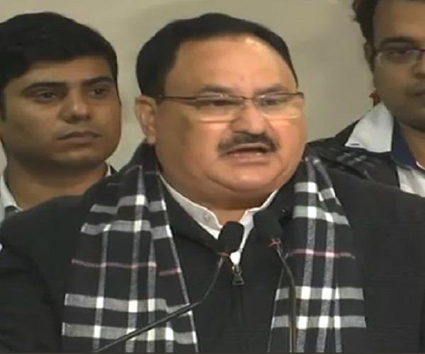 in the last 5 years we have done great work on social security jp nadda
