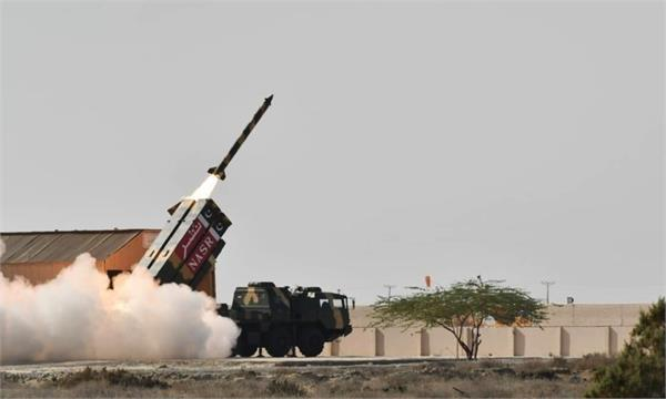 pakistan successfully test fires short range ballistic missile  nasr