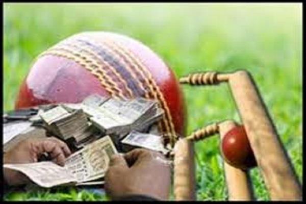 10 betting on cricket match