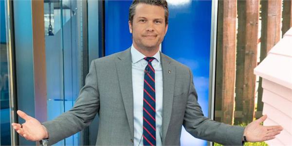 host pete hegseth says dosn t wash his hands from 10 years