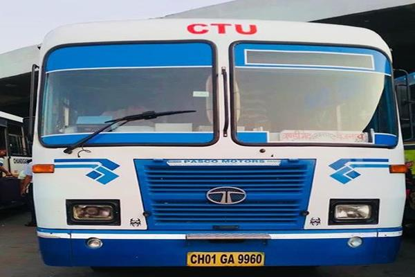 uttarakhand buses will not be able to buses now in chandigarh