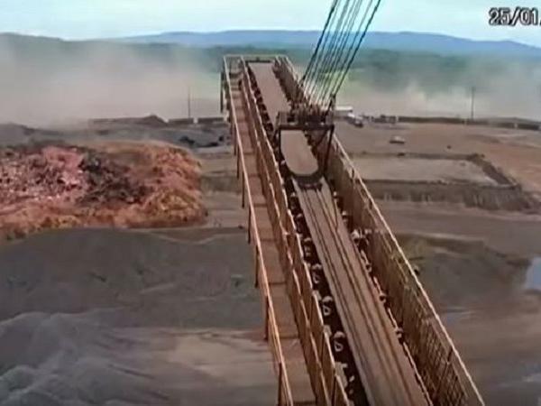 brazil dam burst video goes viral