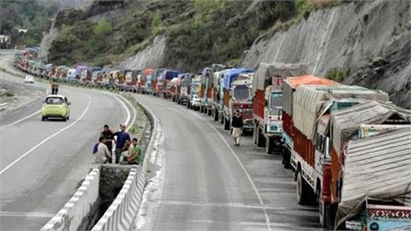 jammu srinagar highway closed on seventh day