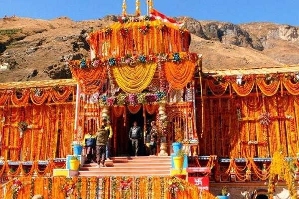 badrinath dham doors will open on may 10