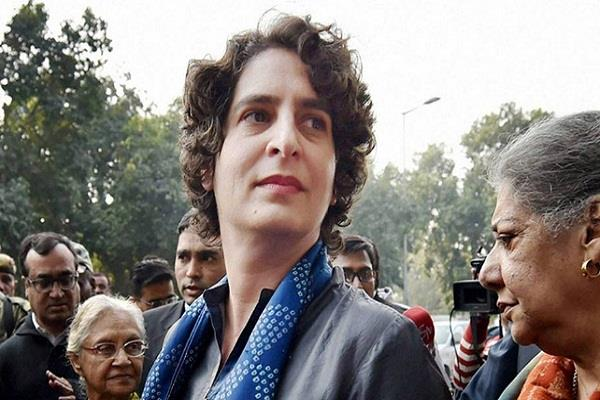 congress priyanka gandhi lucknow jyotiraditya scindia