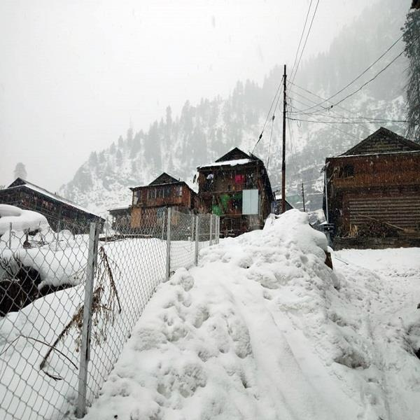 rain and snowfall in himachal increased the hardships of people