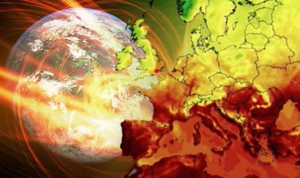 climate change pushes global temperatures to record highs