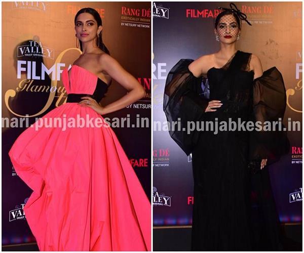 Filmfare Awards19: करिश्मा दिखी सेक्सी तो सोनम और दीपिका नहीं कर पाईं इम्प्रेस
