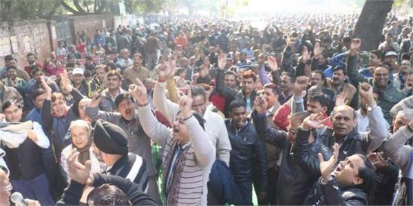 strike of uttar pradesh government employees