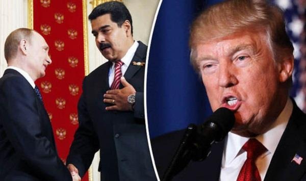 trump blasts venezuela over blocked us aid shipments