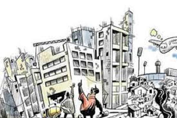 illegal construction corporation hands not reaching builders