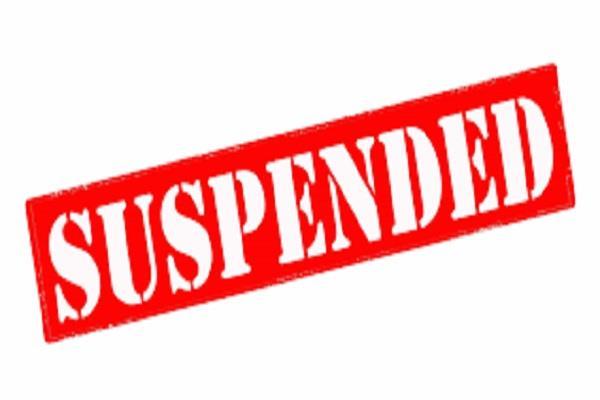 kanhari s sarpanch suspended on irregularities
