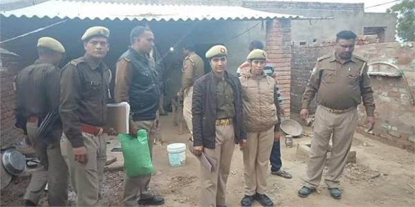 husband reached police station by killing wife and her lover