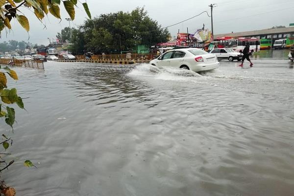 rain in hoshiarpur