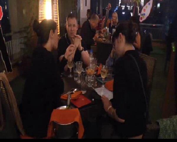 the food festivities started at hotel clark siraj
