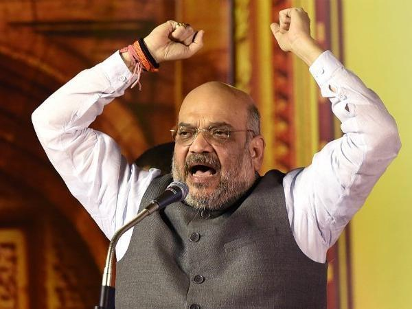 our party runs from democracy amit shah