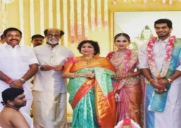 रजनीकांत की बेटी सौंदर्यां ने रचाई दूसरी शादी, जानें क्यूं टूटा पहला विवाह