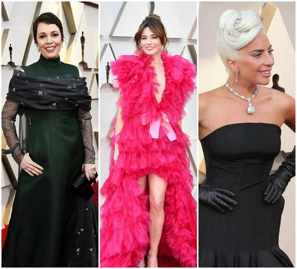 Oscars 2019: लेडी गागा ने ब्लेक गाउन के साथ पहना 2 अरब का नेकलेस, देखता रह गया हर कोई