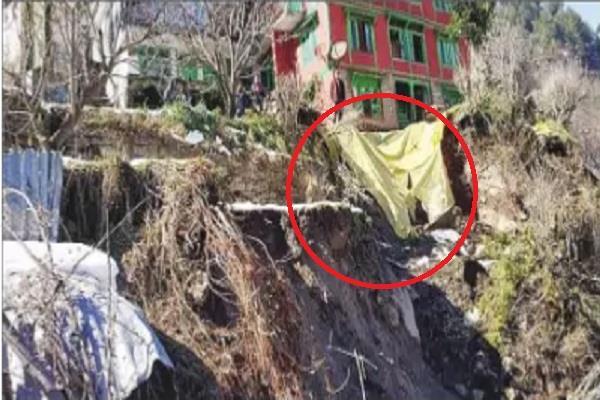 increase risk of landslide in manali