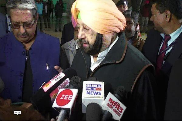 punjab budget session captain told akali walkout baditmiji