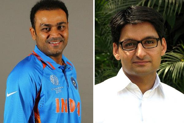bjp will contested virendra sehwag against deependra