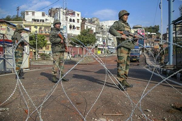curfew continues for fourth day in jammu