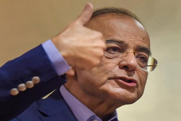 arun jaitley resumes charge as finance minister