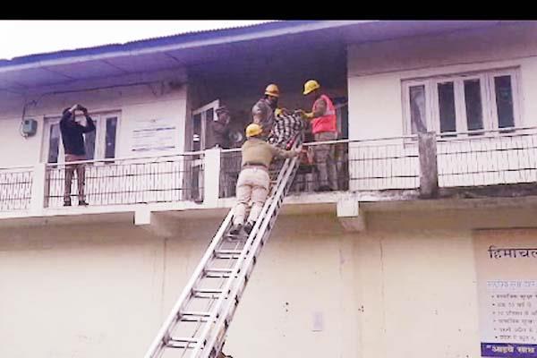 kullu district magistrate mock drill