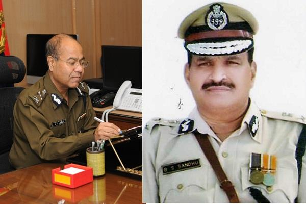 kp singh replaces dgp sandhu of haryana