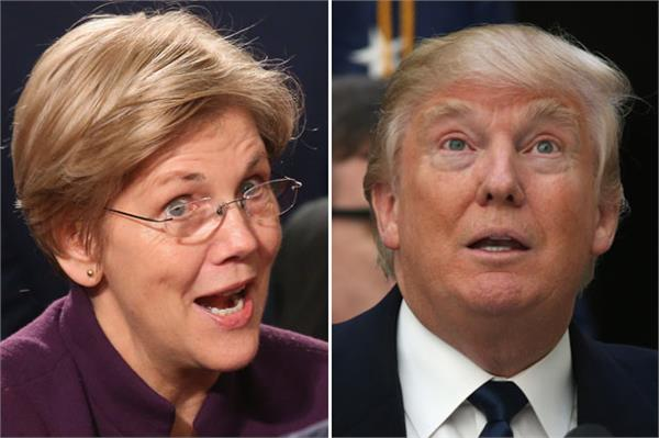trump may not even be a free person in 2020 warren