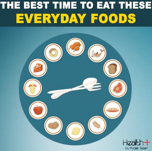 the best time to eat these everyday foods