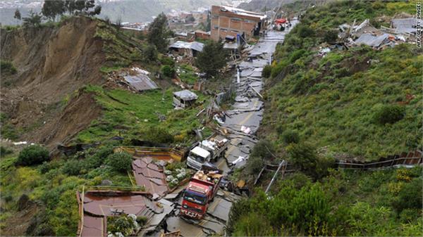 landslide kills at least 11 on bolivian highway