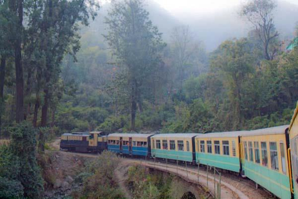 kangra rain rail traffic affected