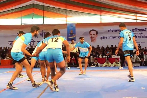 one crore prize kabaddi competition in hisar