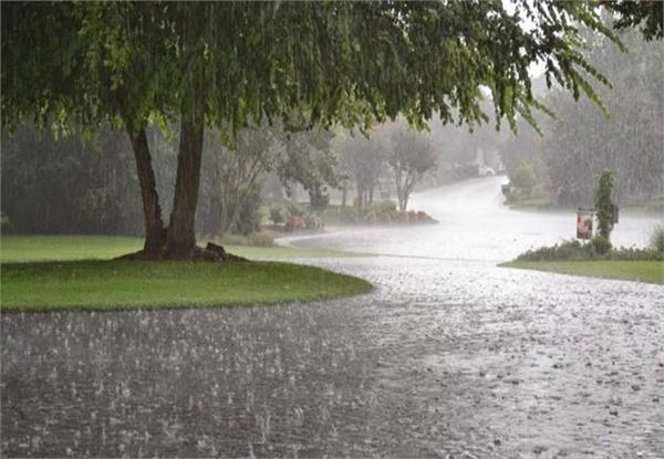 chance of rain in uttar pradesh by saturday