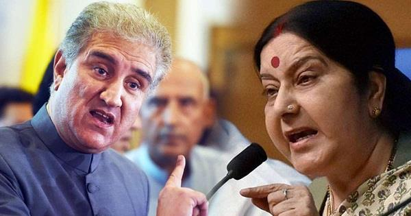 qureshi threatens to boycott oic meeting over sushma swaraj