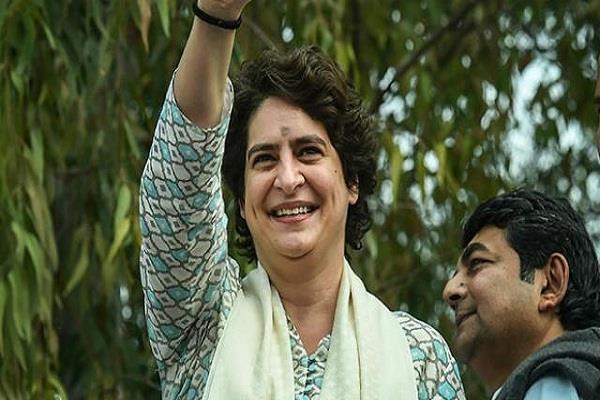 priyanka gandhi says to amethis people i am here
