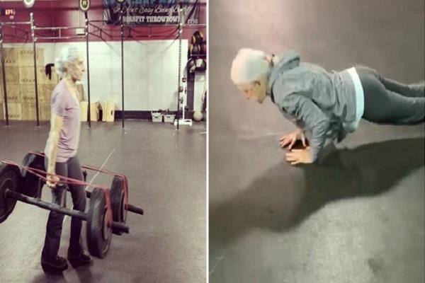 72 year old woman becomes social media sensation