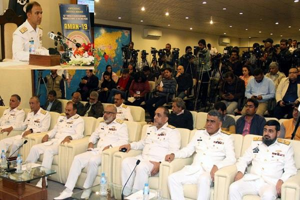 46 countries start maritime practice