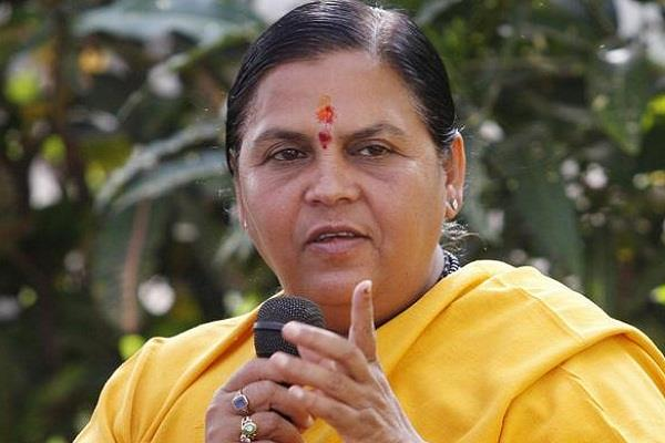 uma bharti do not fight lok sabha election
