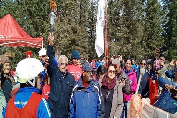 special olympics india s winter games started in narkanda