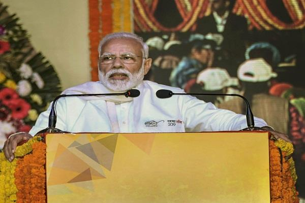 modi will speed up campaign to make corruption free modi