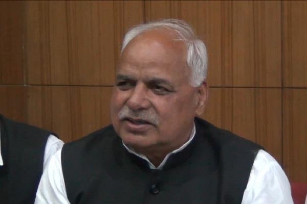 former minister harsh kumar declares to quit bjp declares joining jjp