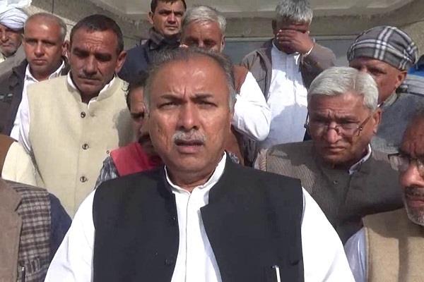 yashpal malik said mp saini and bjp is one