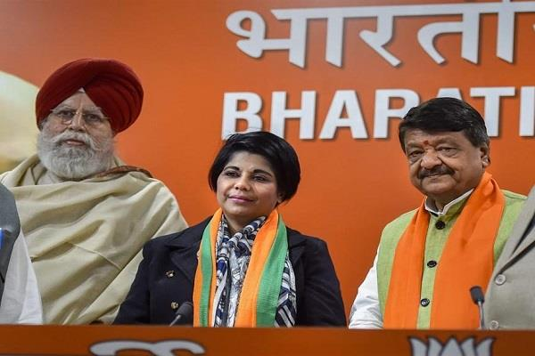 bharti ghosh former ips officer to join bjp demanded protection from court