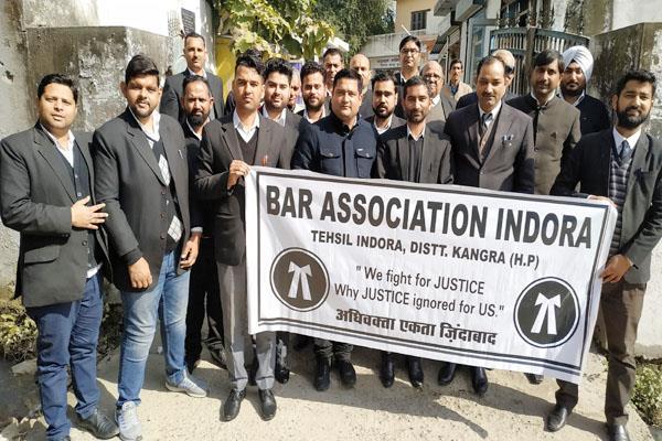 indora bar association rally