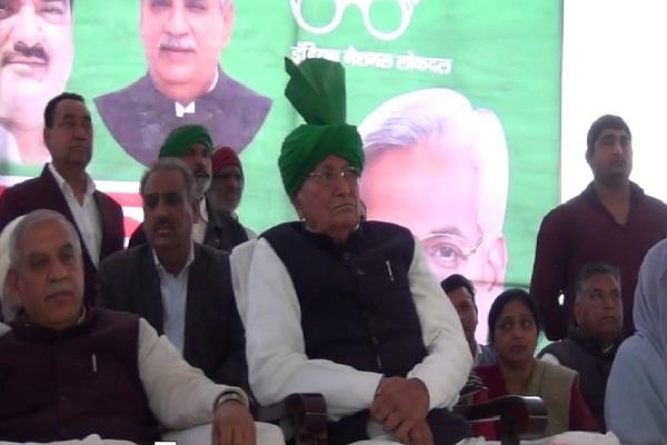 op chautala s sign to bjp inld coalition