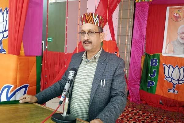 satti said congress s agenda to fight the people
